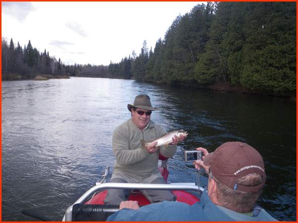 Ausable 10 24 11 002 for Indiana fishing report
