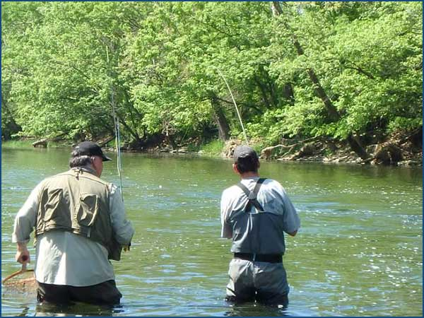 Fly fishing report from indiana fly fishing guides for Indiana crappie fishing