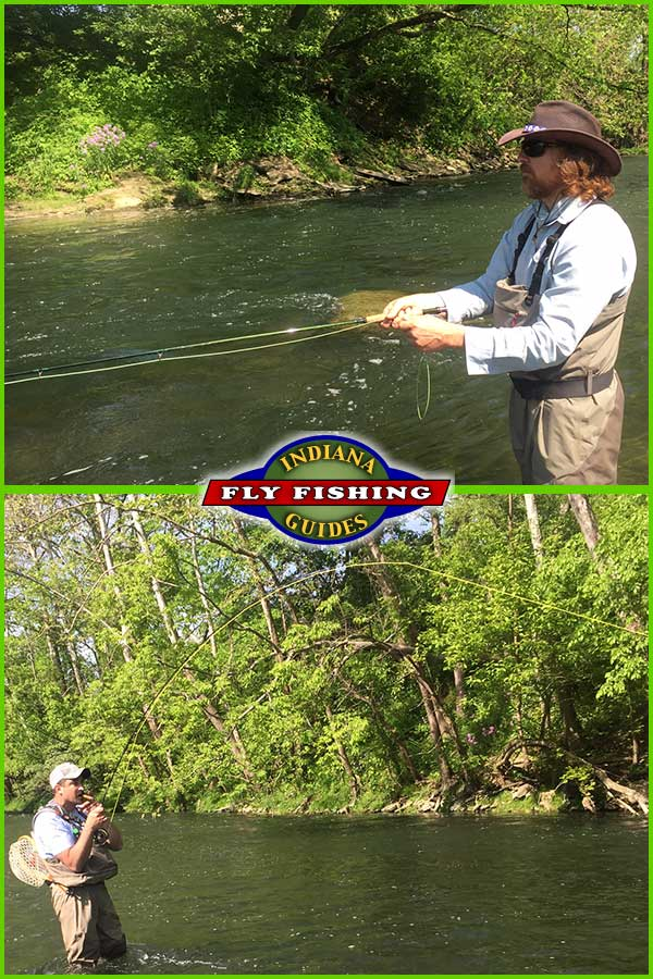 fly fishing report from indiana fly fishing guides