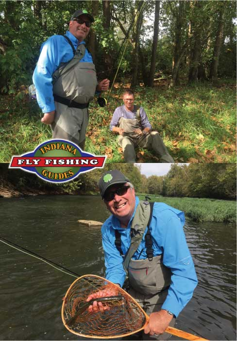 Fly fishing report from indiana fly fishing guides for Orvis fishing report