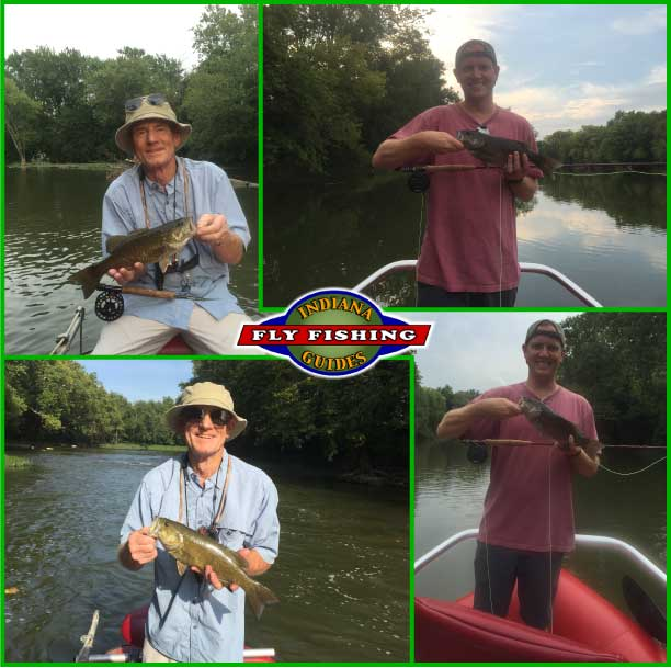 Fly fishing report from Indiana Fly Fishing Guides - reports