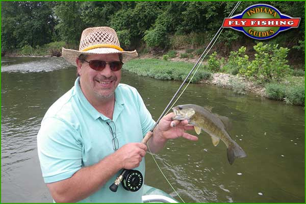 Sugar creek indiana for Indiana fishing reports