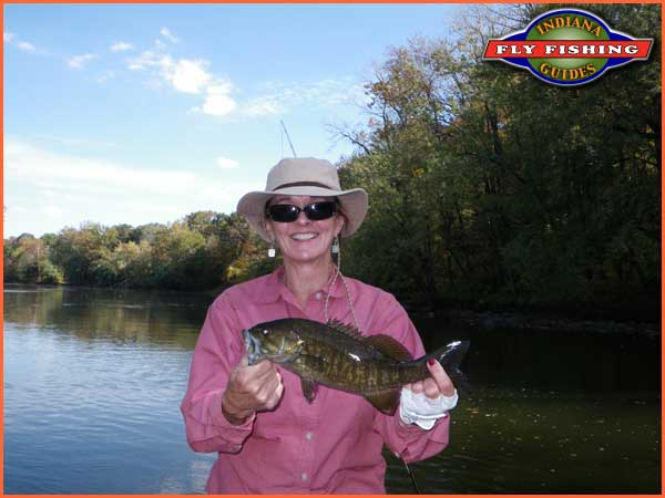Indiana fly fishing guides guided fly fishing trips on for Fly fishing indiana