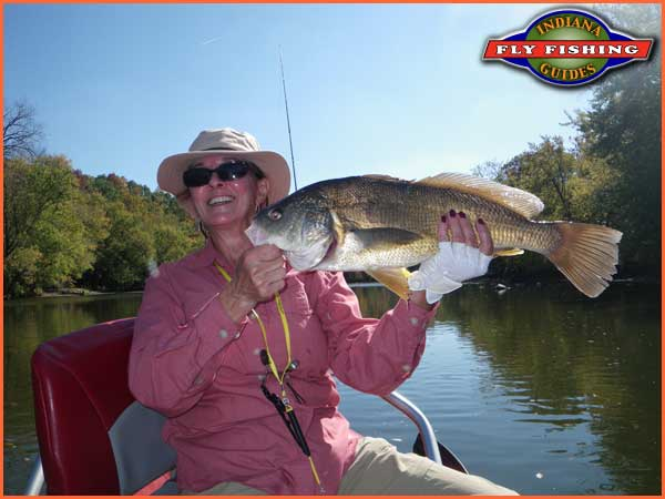 Indiana fly fishing guides guided fly fishing trips on for Fishing in indiana