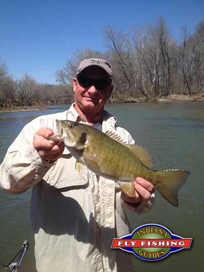 Fly fishing report from indiana fly fishing guides for Brookville lake fishing report