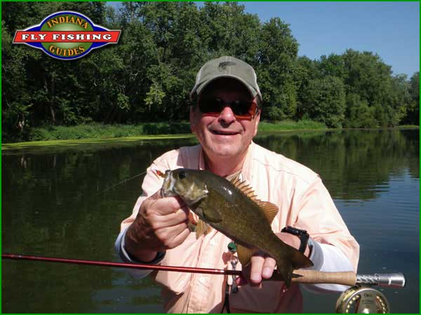 8 7 2012 white river for Indiana fishing report