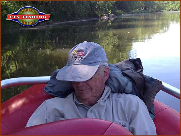 Fly fishing report from indiana fly fishing guides for Tampa bay fishing hot spots
