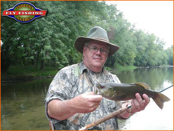 Anderson raible gage 82cfs water temp at 72 76 4 for Indiana fishing reports