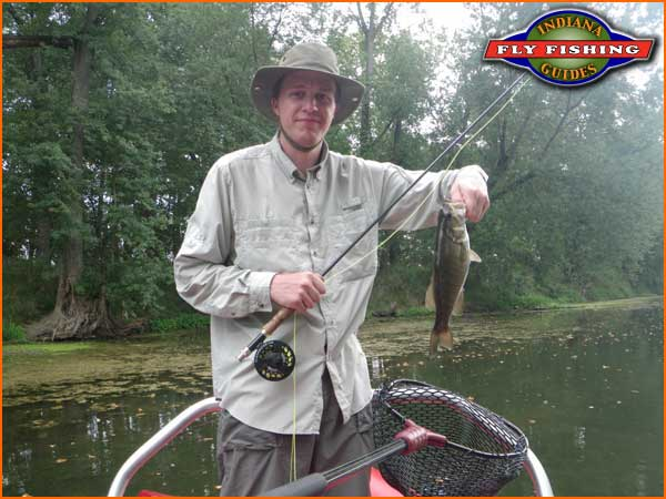 8 24 2012 white river for Fly fishing indiana
